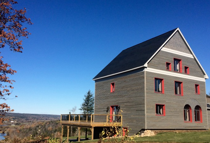 The Strynatka Passive House in Penniac NB