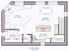 Naugler House Main Floor Plan